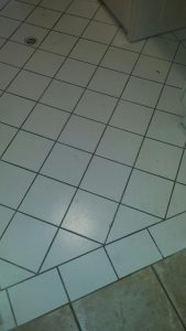 Before Grout Cleaning